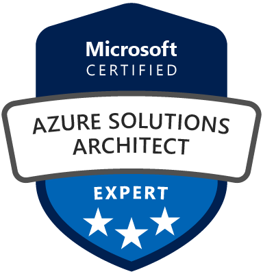 Microsoft Certified Azure Solutions Architect